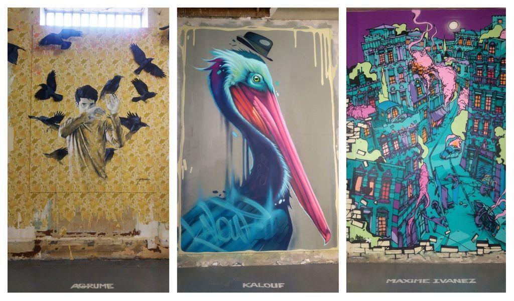 happycurio kalouf pelican agrume maxime ivanez zoo art show lyon
