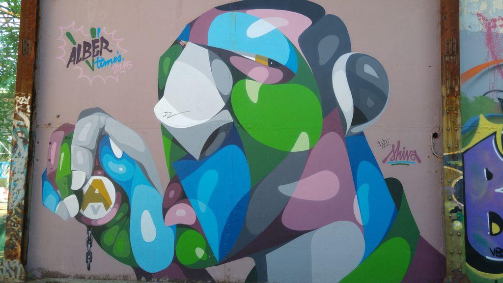 happycurio alber street art caserne niel bordeaux