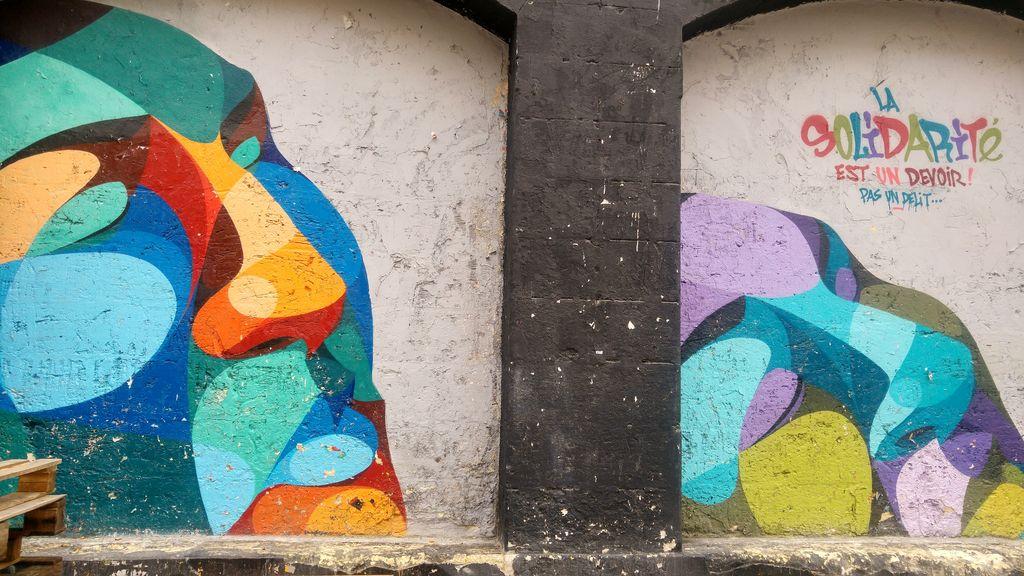 happycurio fresque murale alber bordeaux darwin hangar
