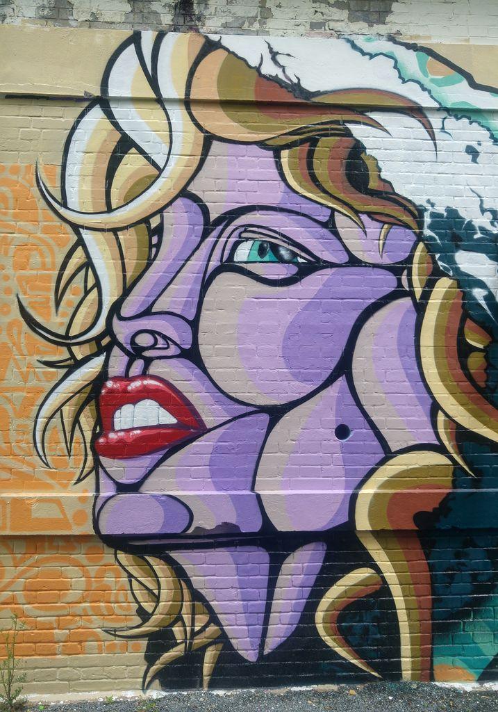 happycurio krony kone street art darwin bordeaux