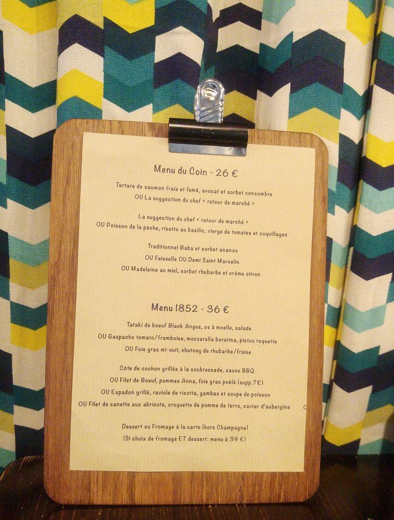 happycurio menu chez arnaud restaurant lyon 9