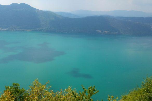 le belvedere chambote aix les bains vue lac du bourget