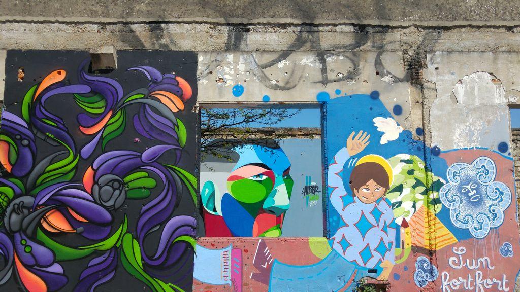 parcours street art bordeaux projet darwin bastide
