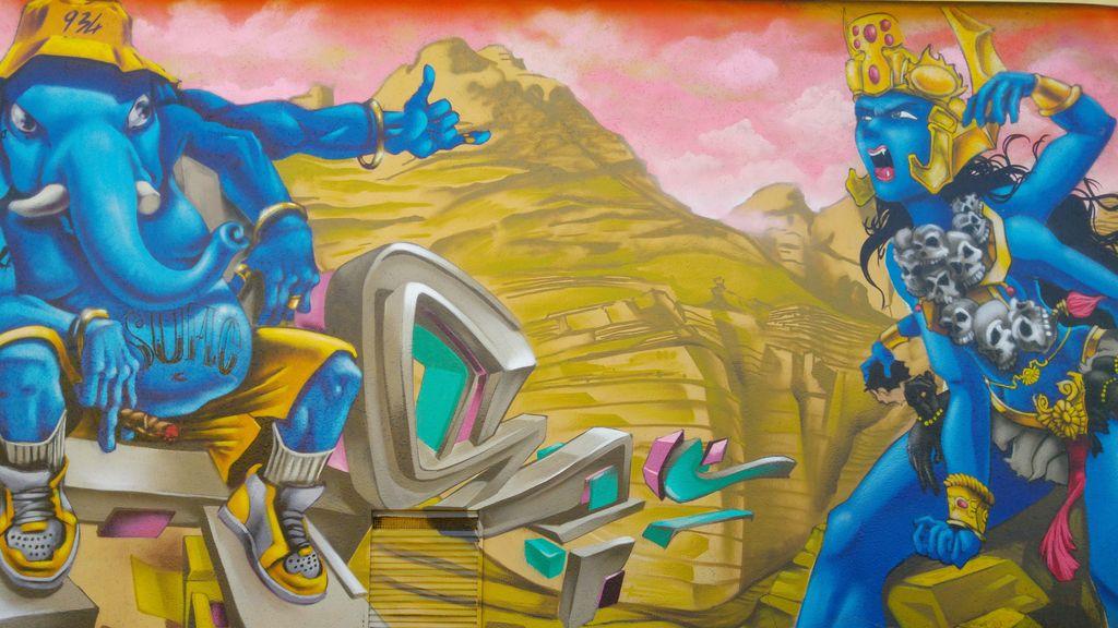 street art ganesh elephant bordeaux 934 crew sun.c