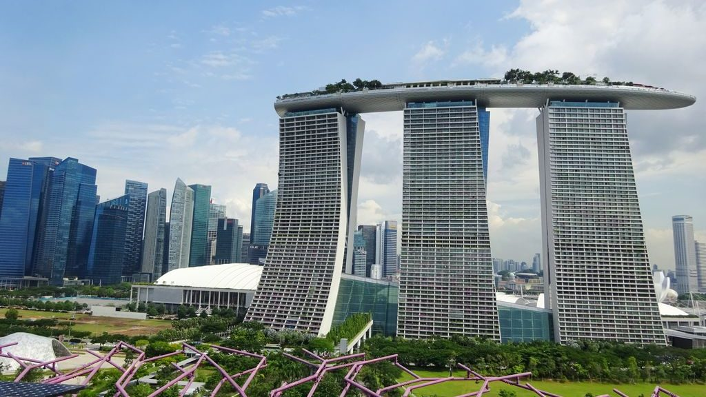 happycurio marina bay sands gardens by the bay singapour