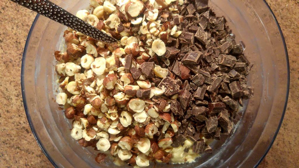 happycurio recette cookie petites de chocolat et noisettes
