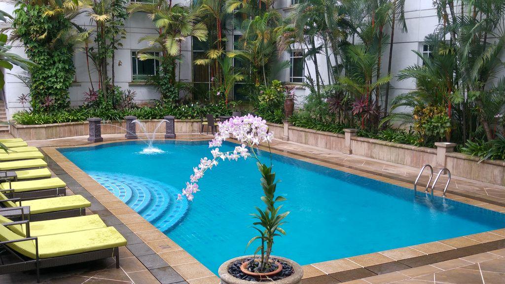 rendez vous hotel singapour piscine
