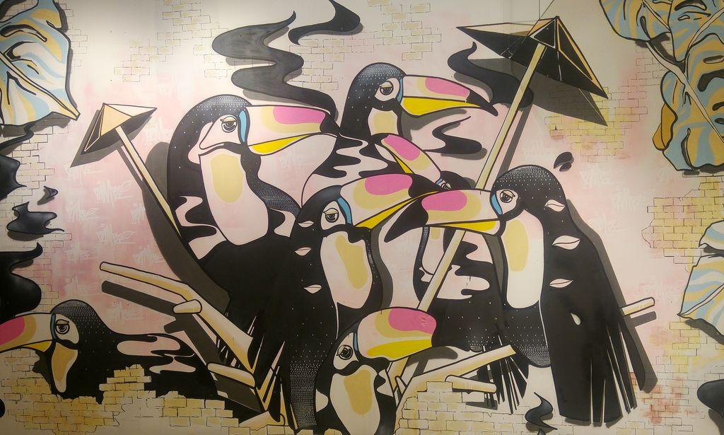 happycurio bambi street art lyon