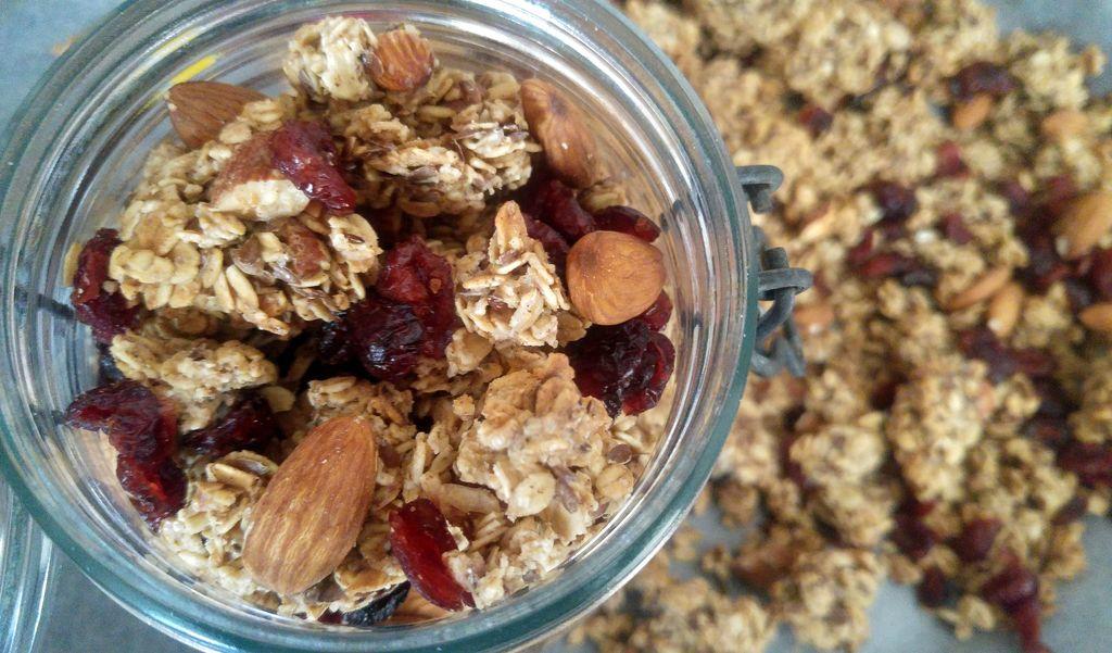 happycurio bocal granola maison croustillant recette facile rapide