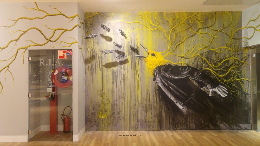 happycurio street art parvati lyon confluence