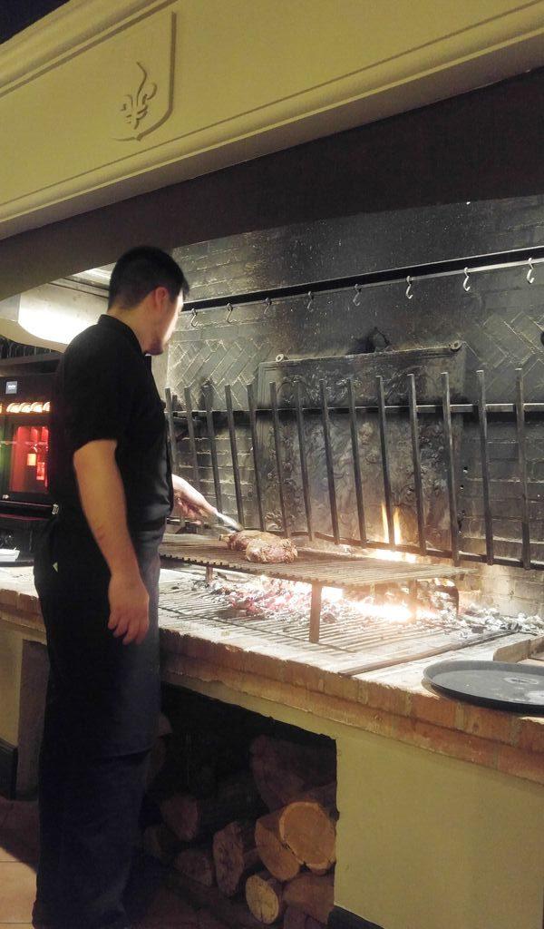 la bastide cheminee viande