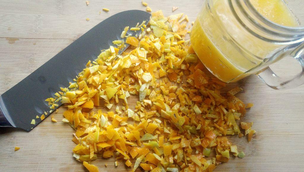 recette confiture noel agrumes