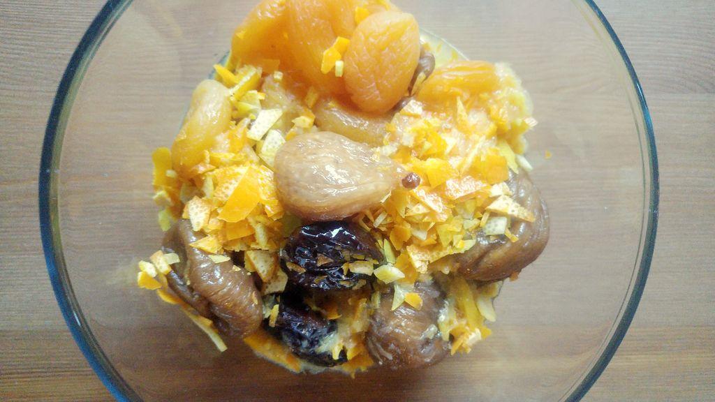 recette confiture noel fruits secs cannelle
