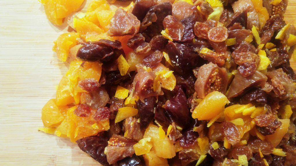 recette de noel confiture fruits secs
