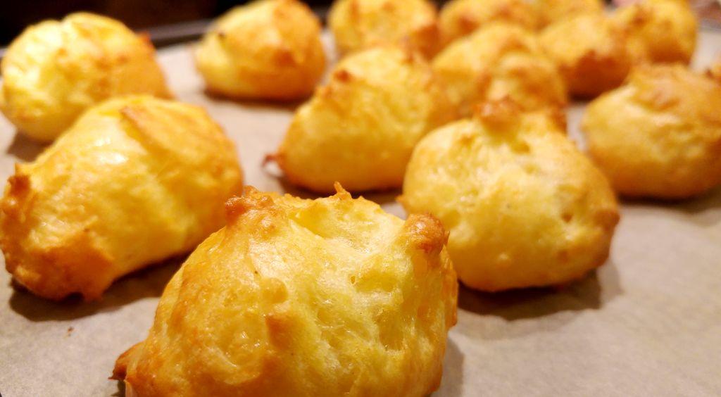 recette gougères apéritives au fromage