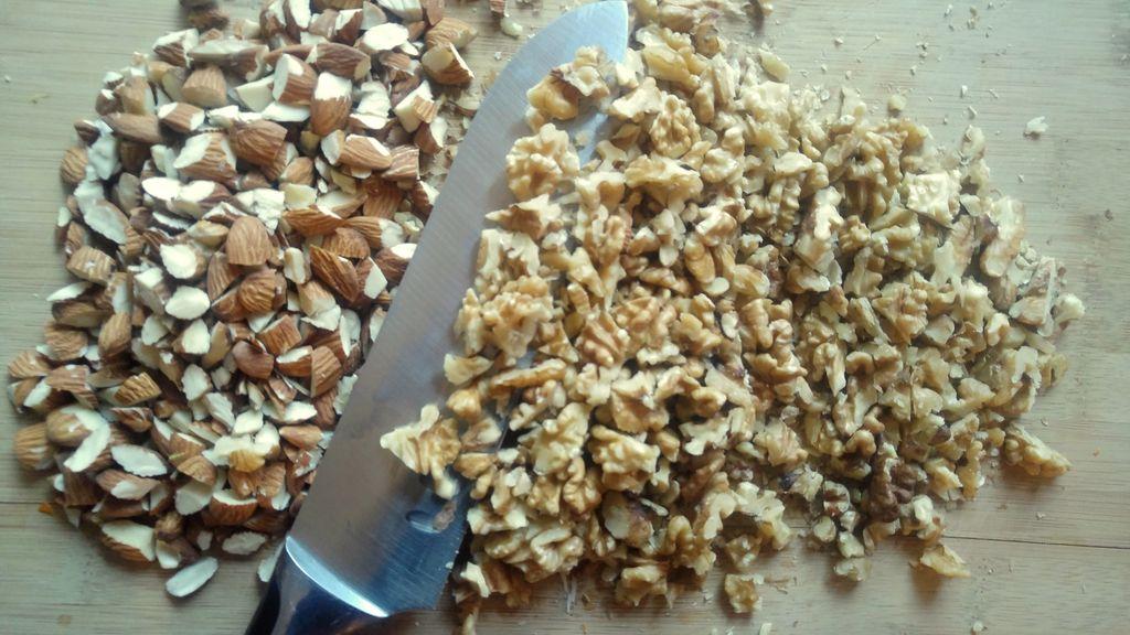 recette noel amandes noix confiture
