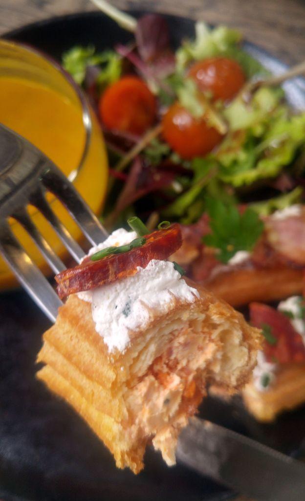 eclair salé chorizo eclaireurs foodcourt lyon