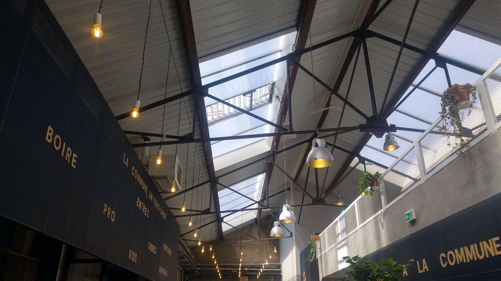 hangar la commune pour manger, boire, concert
