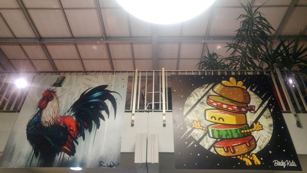 kalouf birdy kids street art zoo art show lyon