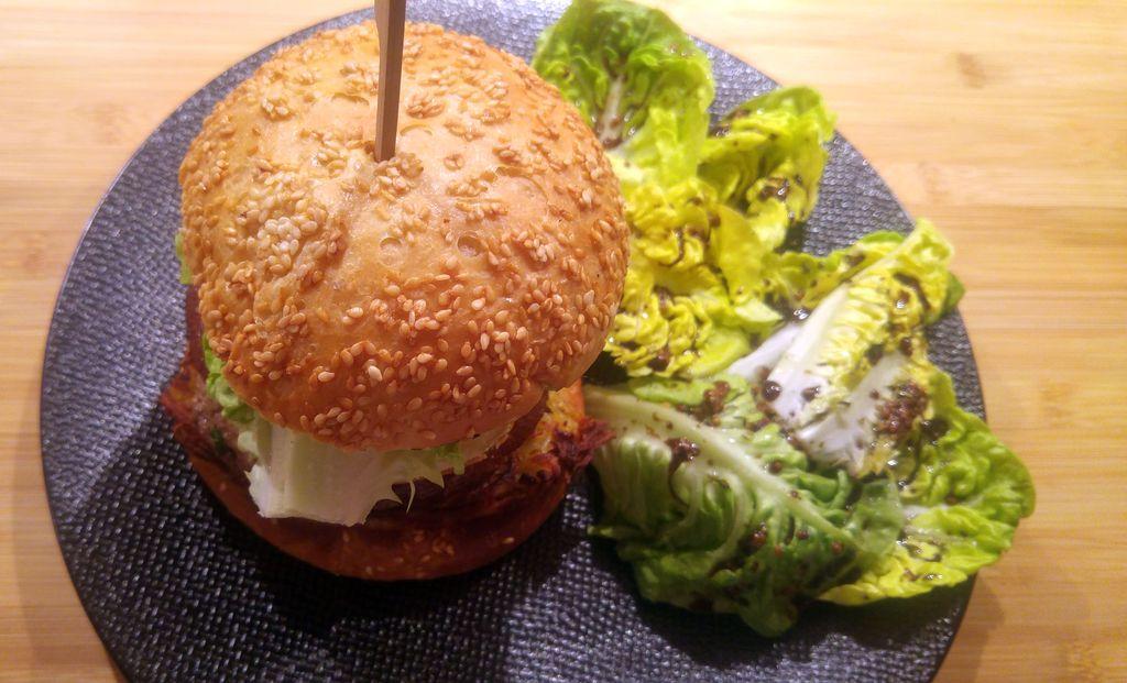 présentation burger maison