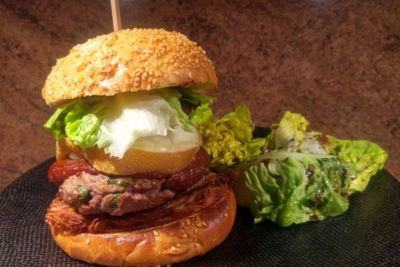 recette de burger fait maison