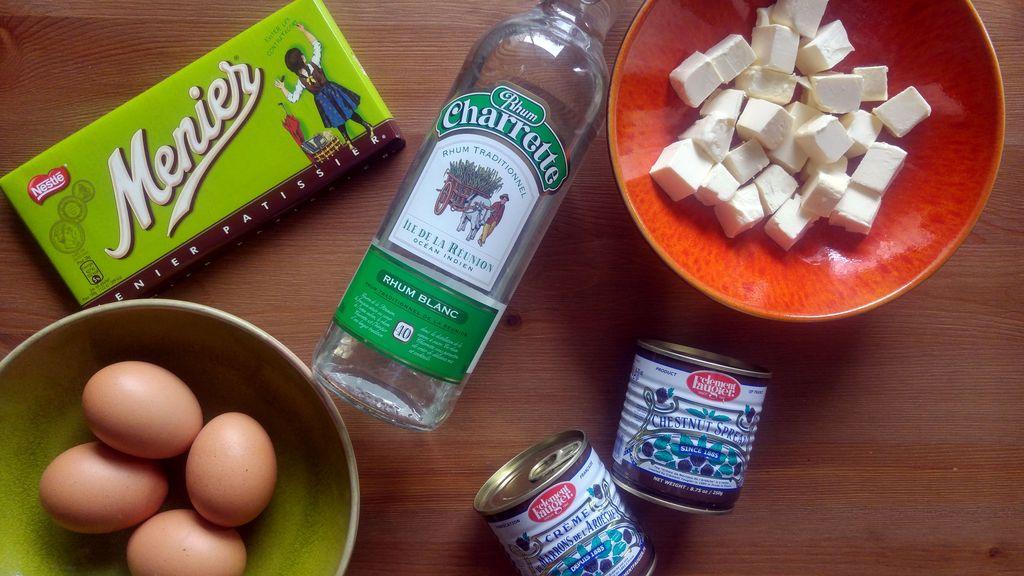 recette de gateau chocolat et marron