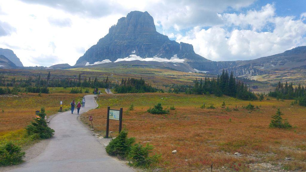 road trip us glacier national park