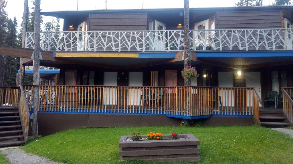 Dormir à jasper Sunwapta Falls lodge