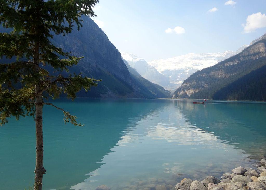 balade autour du lac louise