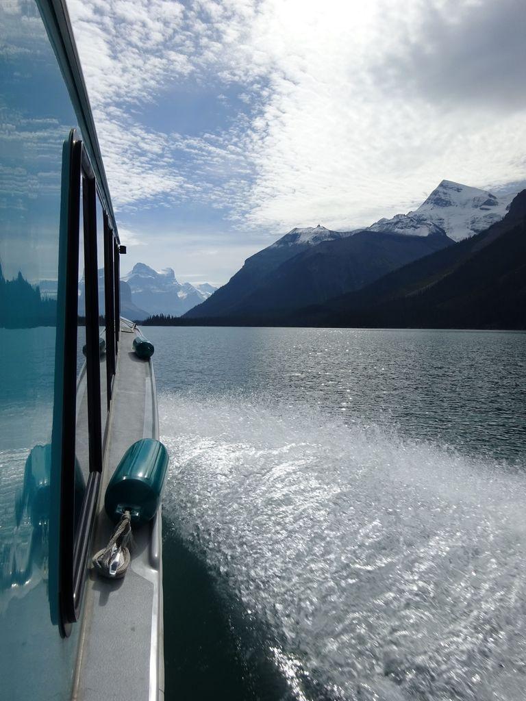 bateau pour spirit island