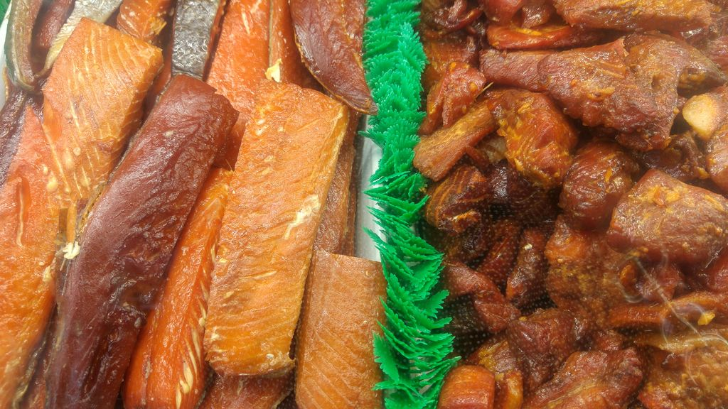 glazed salmon au sirop d'erable granville