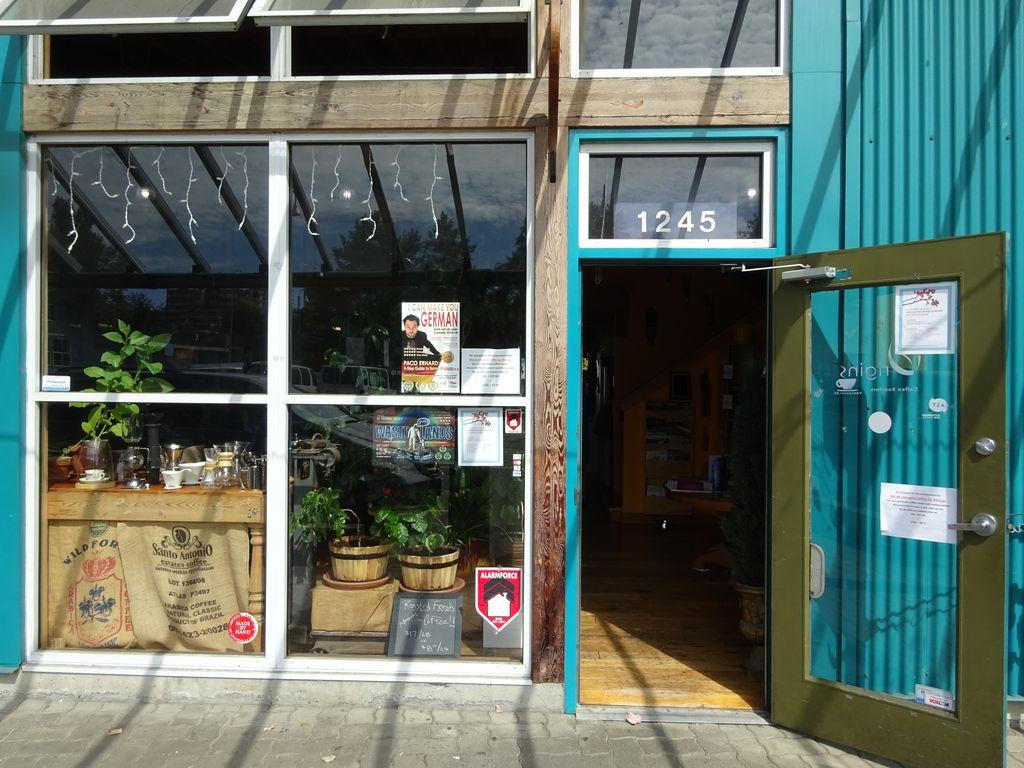 granville island coffee shop vancouver