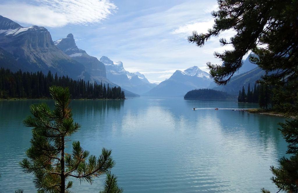 ile esprit sur le lac maligne canada