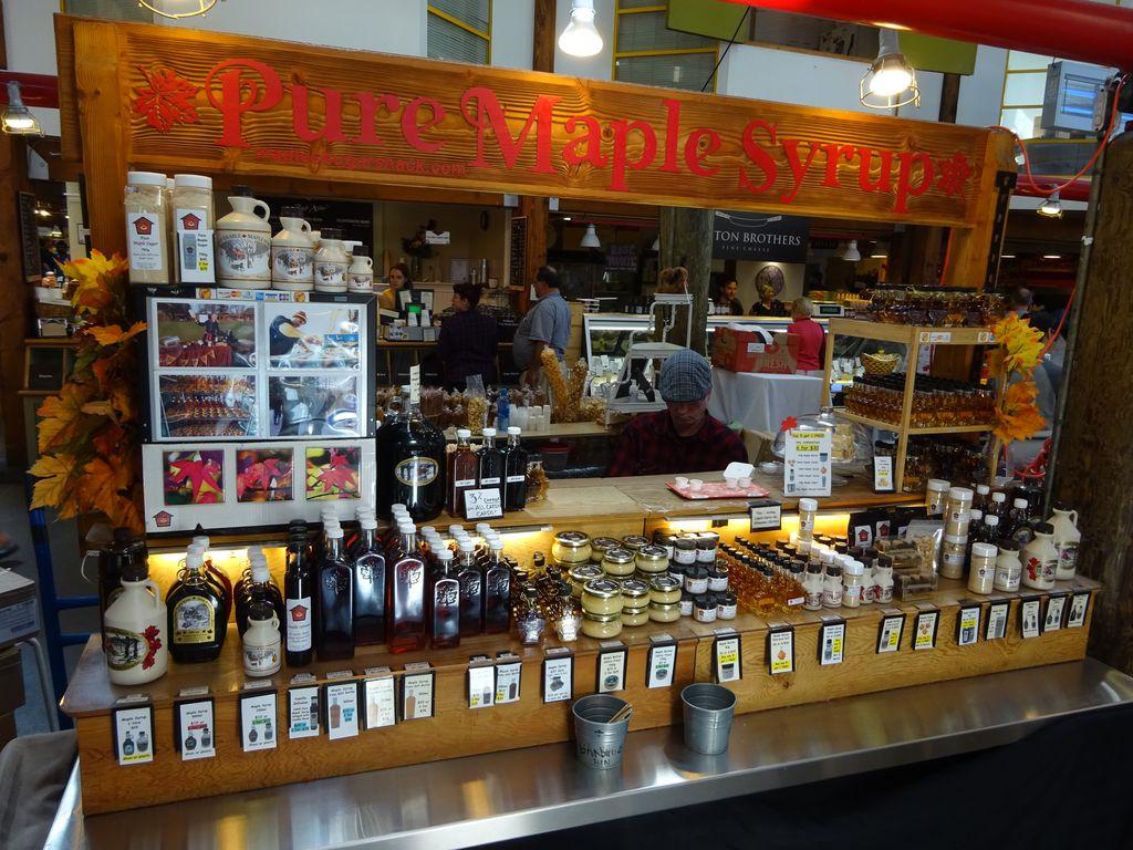 maple syrup erable granville vancouver