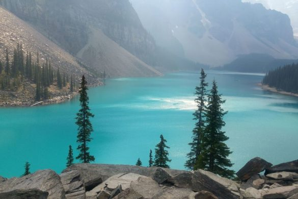 moraine lake parc de banff