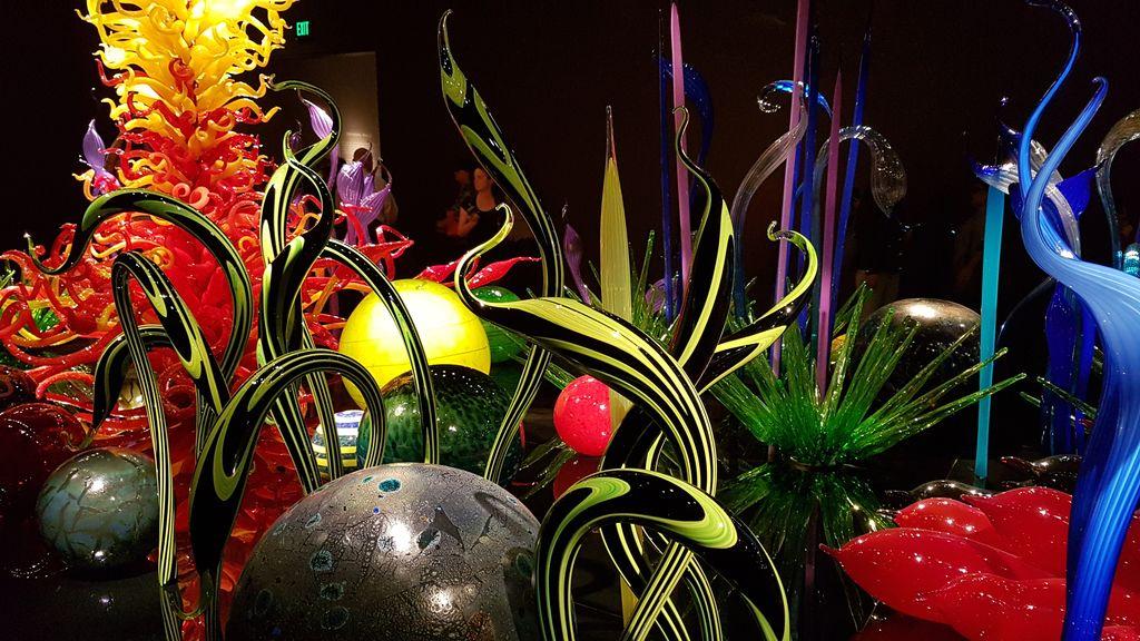 musée sculptures de verre seattle