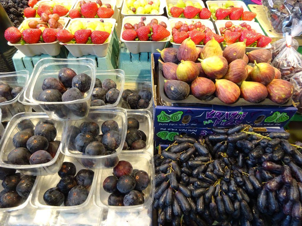 raisins marché granville vancouver