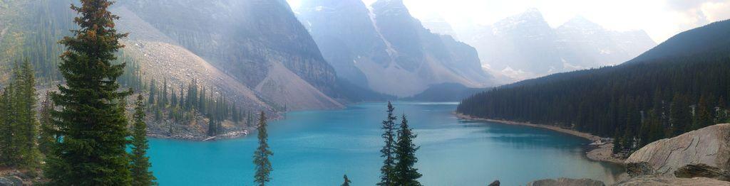 region des lacs canada rocheuses
