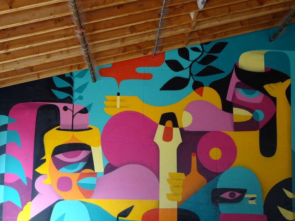 street art granville vancouver