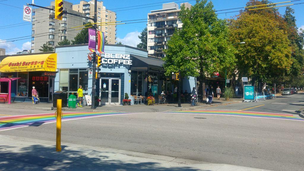 vancouver gay davie bute street