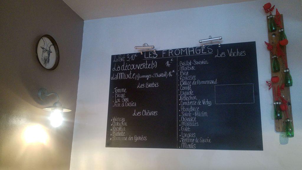 menu de l'instant fromage lyon