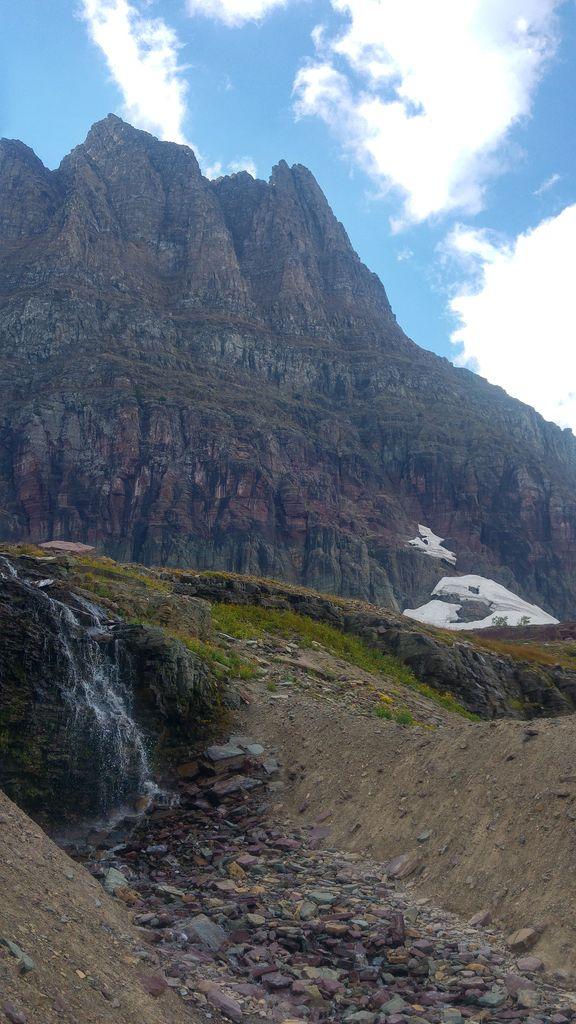 randonnée dans glacier national park