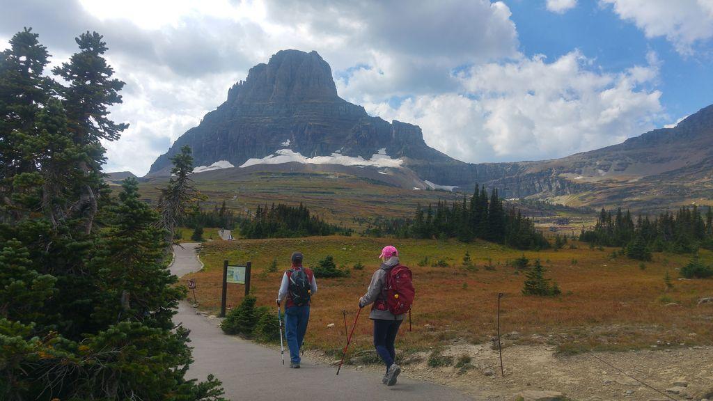 trail glacier nationa park