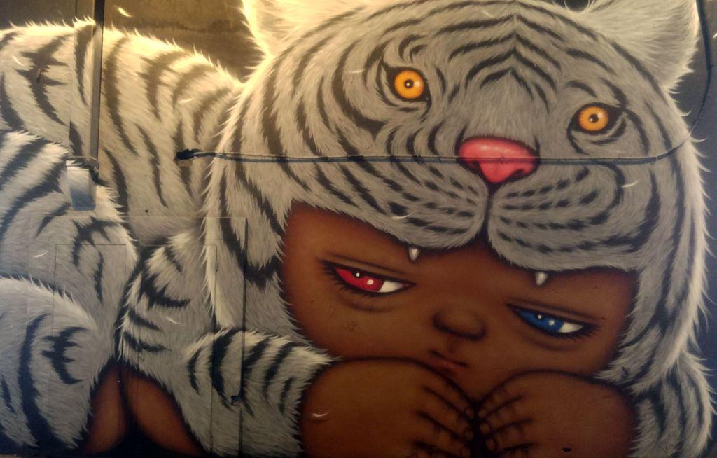 alex face street art lyon