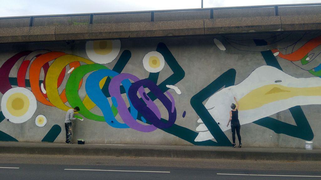 autopont confluence kid kreol boogie street art