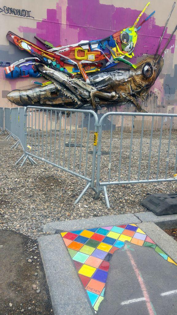 bordalo II ememem festival street art lyon 7