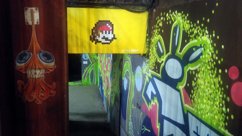 cap phi in the woup festival street art debourg