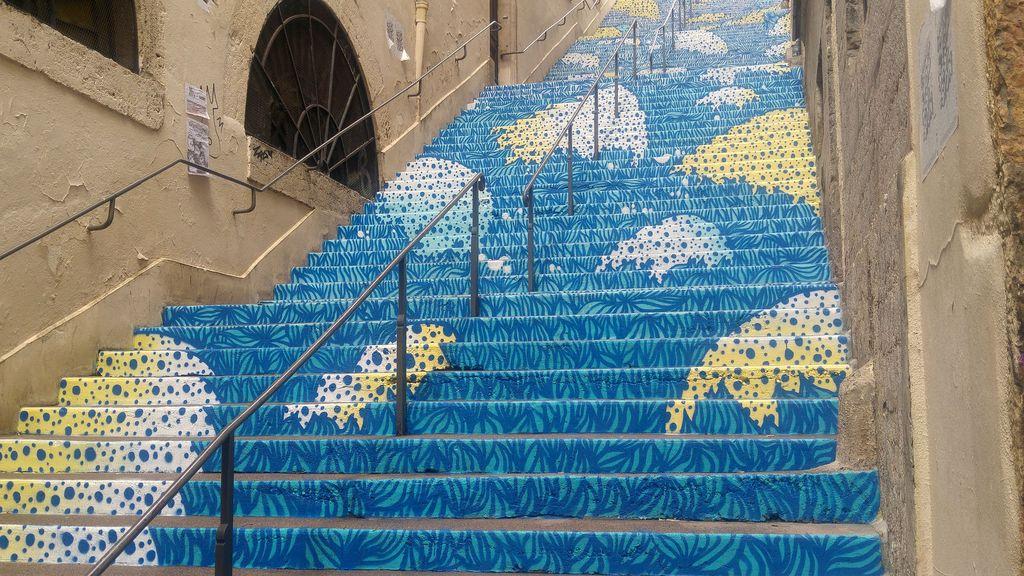 escalier mermet lyon