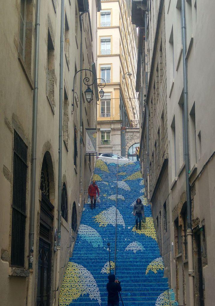 lyon peinture fraiche escalier mermet wenc