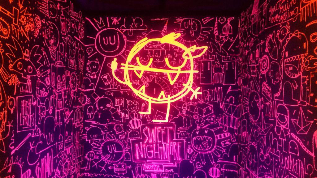 monsta neon street art festival lyon